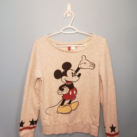H&M Tops - H&M (Divided) Disney Mickey Mouse Long Sleeve